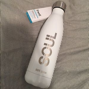S'well swell SoulCycle water bottle 17oz brand new